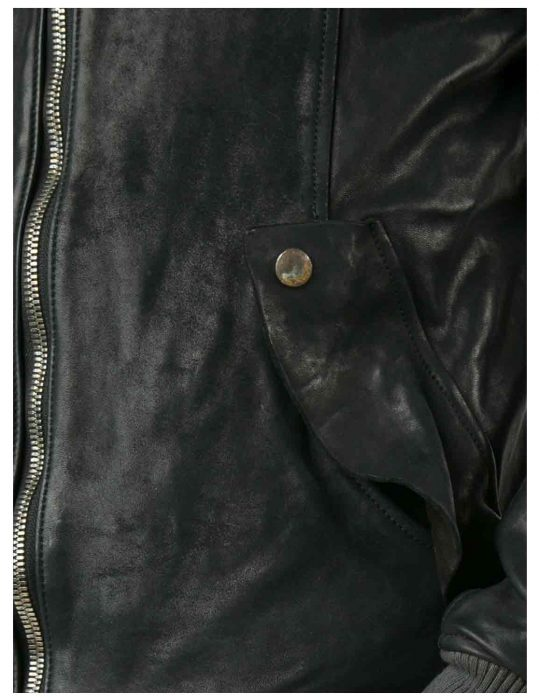 black bomber jacket for men