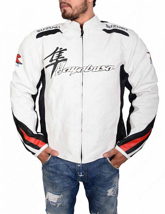 suzuki hayabusa leather jacket