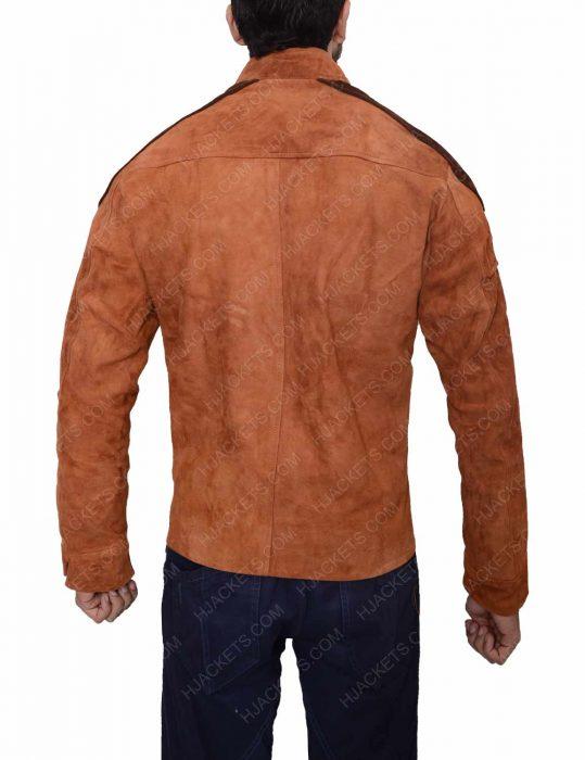 Warrior Suede Jacket