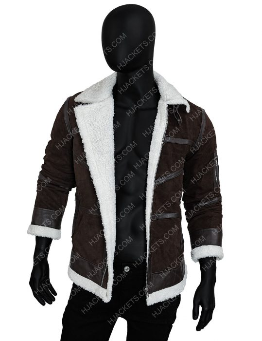 50 Cent Power Shearling Jacket