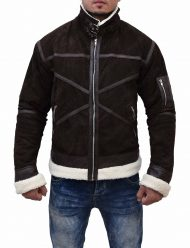 50-cent-pwoer-brown-leather-jacket