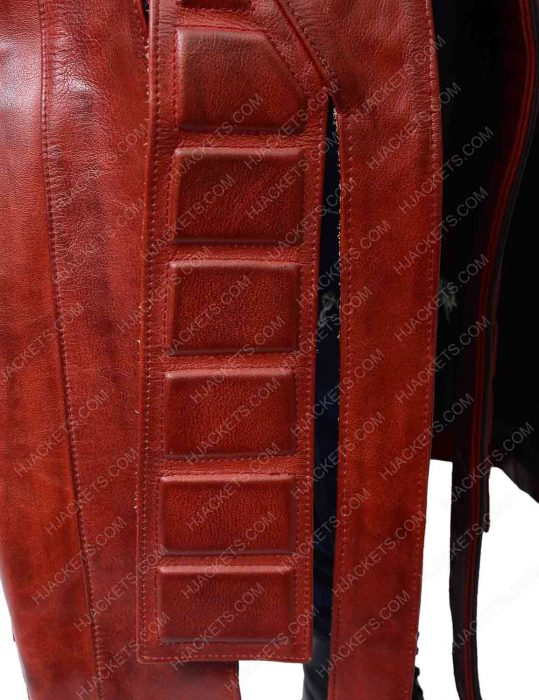 star lord leather trench coat