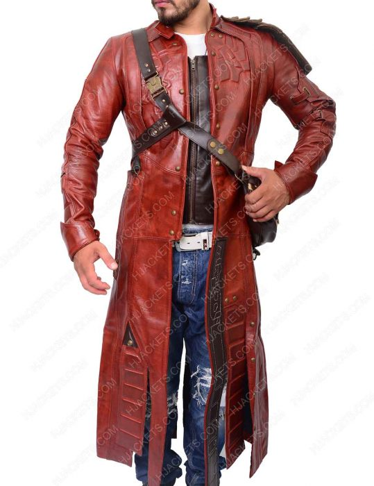 peter quill trench coat