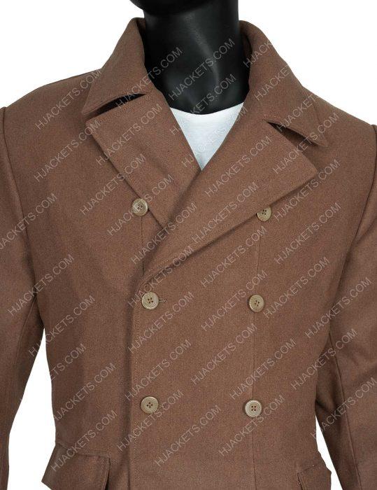 David Tennant Brown Tenth Doctors Coat