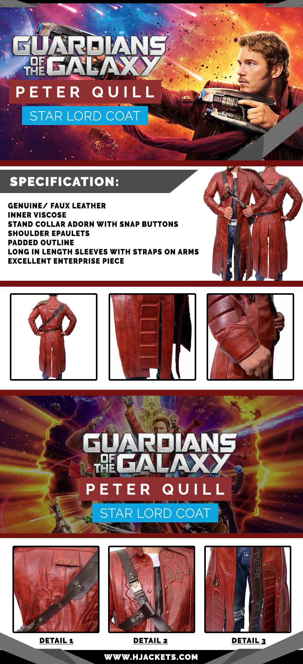 Guardians Of The Galaxy Infographic