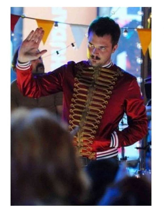 dior homme red jacket