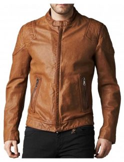 blade trinity brown jacket