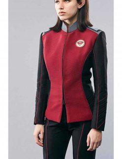 the orville halston sage jacket