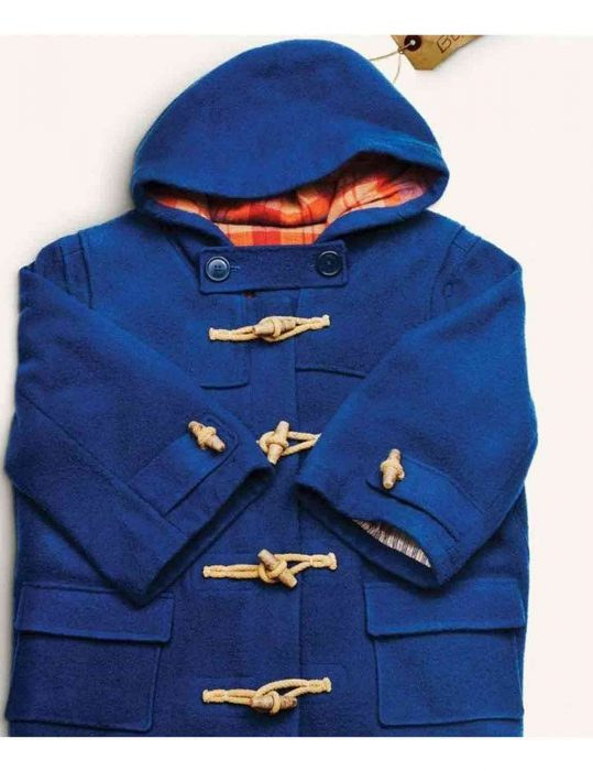paddington bear blue coat