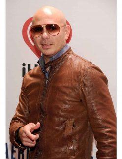 pitbull brown jacket