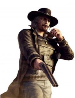 call of juarez bound in blood leather coat