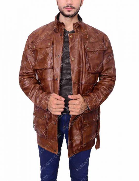 brad pitt motorcycle jacket
