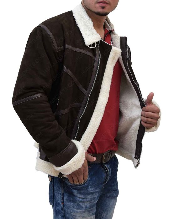 power-50-cent-brown-shearling-jacket