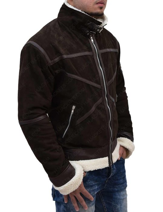 power-50-cent-brown-shearling-seude-leather-jacket