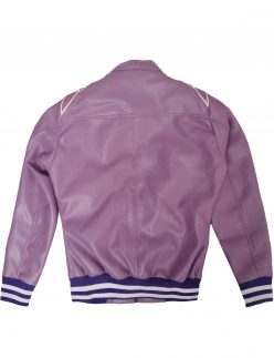 ruth purple bomber jacket