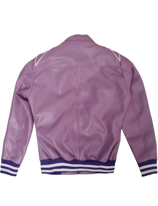 ruth purple bomber jacket