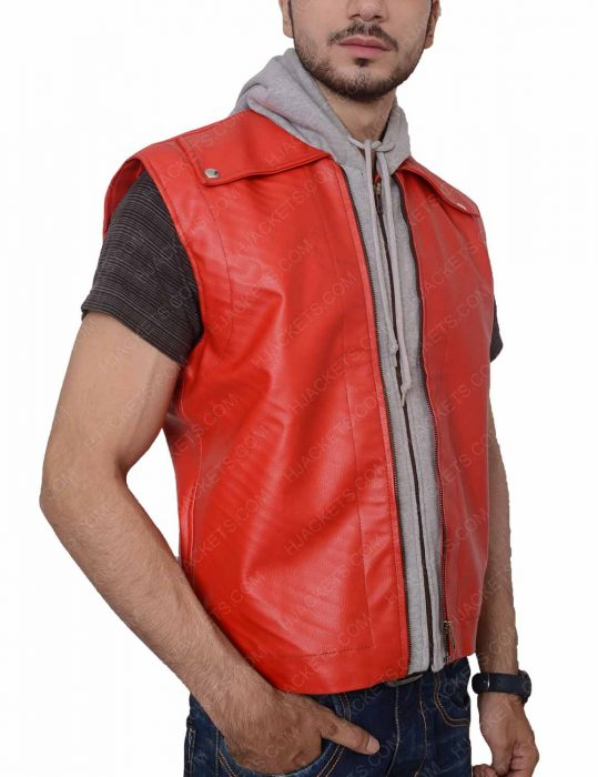 terry bogard leather vest