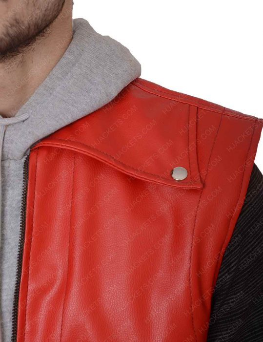 the king of fighters leather vest