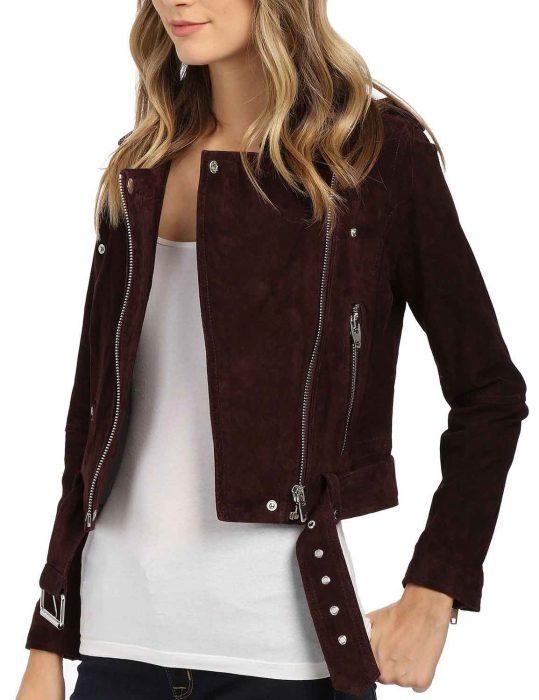 Lyrica Okano Leather Jacket