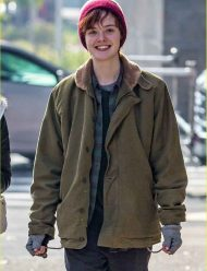 elle fanning cotton jacket
