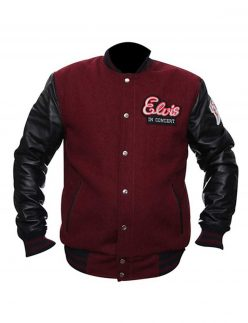 elvis in concert jacket, elvis in concert wool jacket