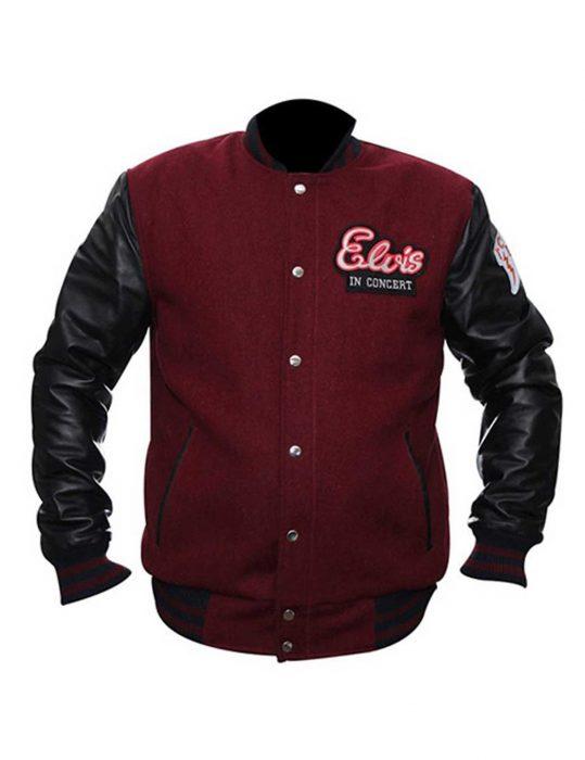 elvis in concert jacket, elvis in concert wool jacket