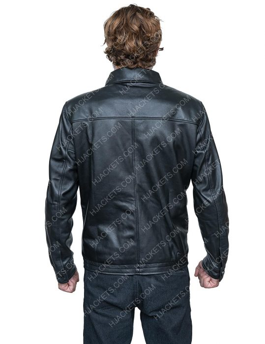 Bad Boys For Life Will Smith Black Leather Jacket