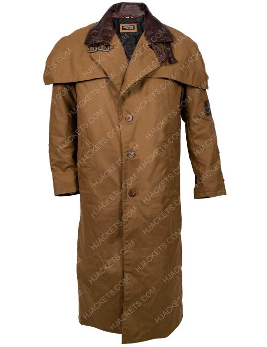 Hellboy 2 The Golden Army Trench Coat