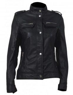 lara croft leather jacket