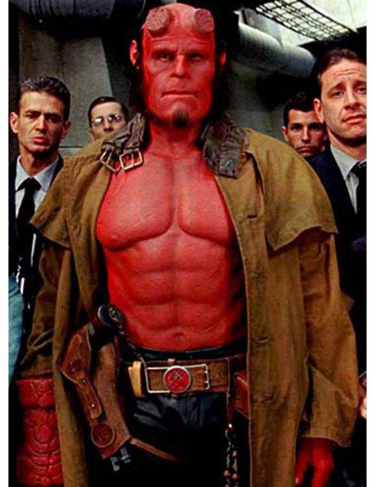 hellboy trench coat