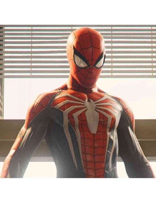 spider-man ps4 jacket
