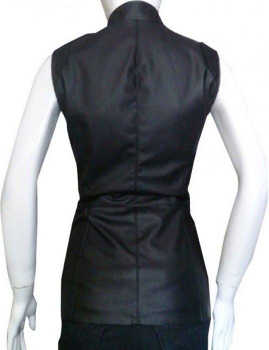 melinda may leather vest