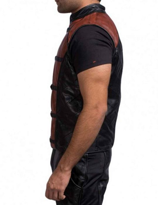 john crichton leather vest