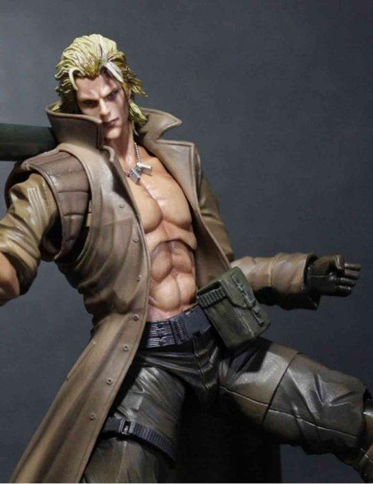 Metal Gear Leather Coat