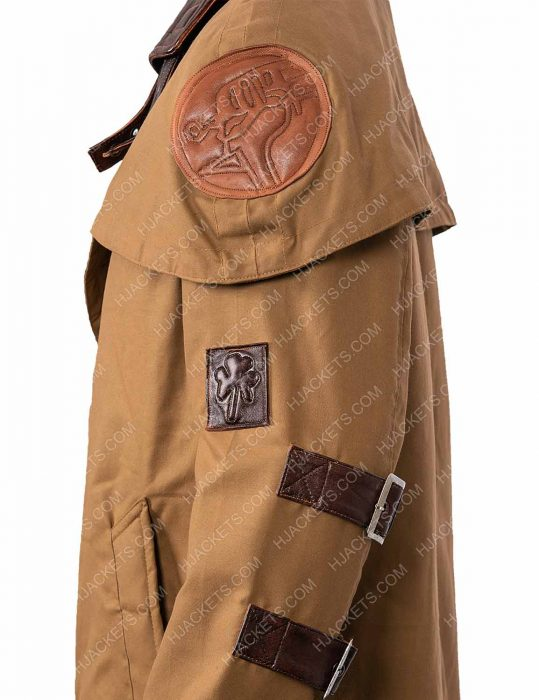 Ron Perlman Hellboy 2 The Golden Army Leather Trench Coat