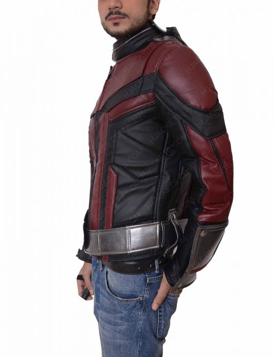 ant man and the wasp paul rudd leather jacket
