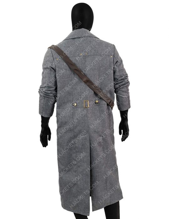 hunter bloodborne cotton long coat