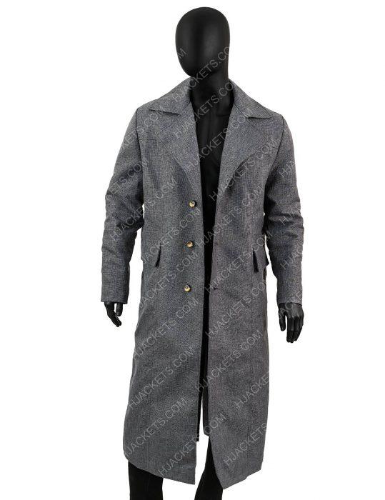 hunter bloodborne grey coat
