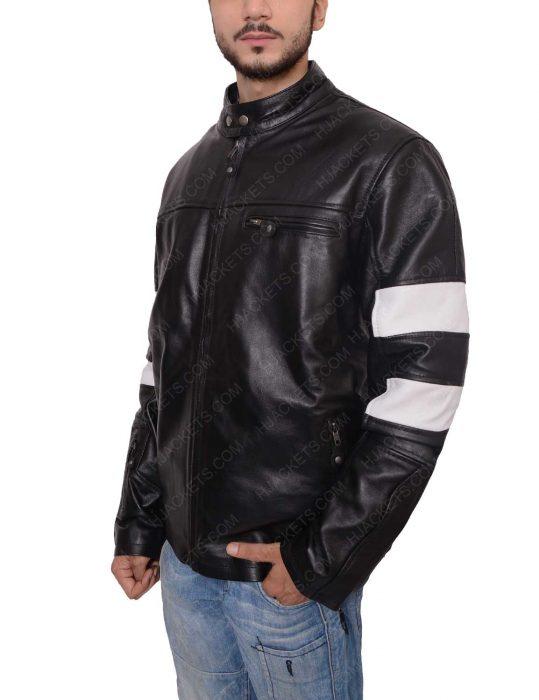 john wick black leather jacket