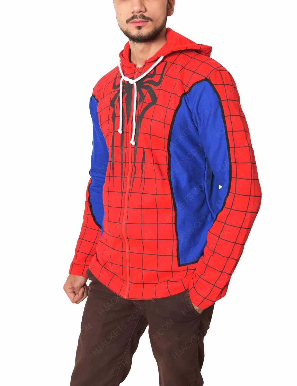 Spider Man Ps4 Red Hoodie