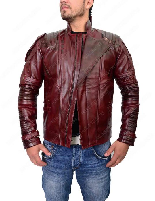star lord infinity war jacket