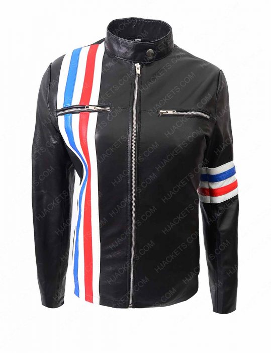 eliza coupe tiger leather jacket