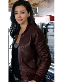 suyin leather jacket