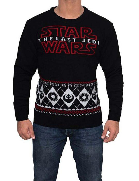 the last jedi sweater