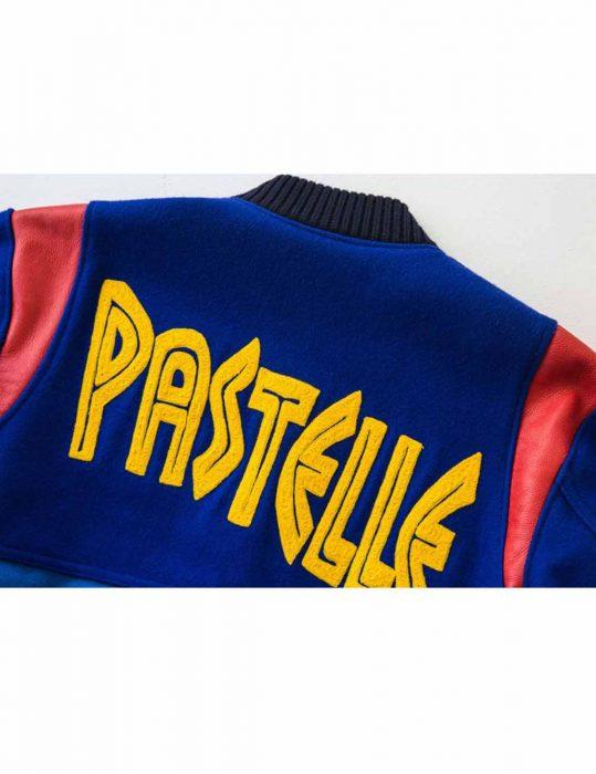 pastelle varsity jacket