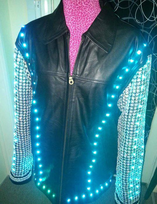 wwe light up chris jericho jacket