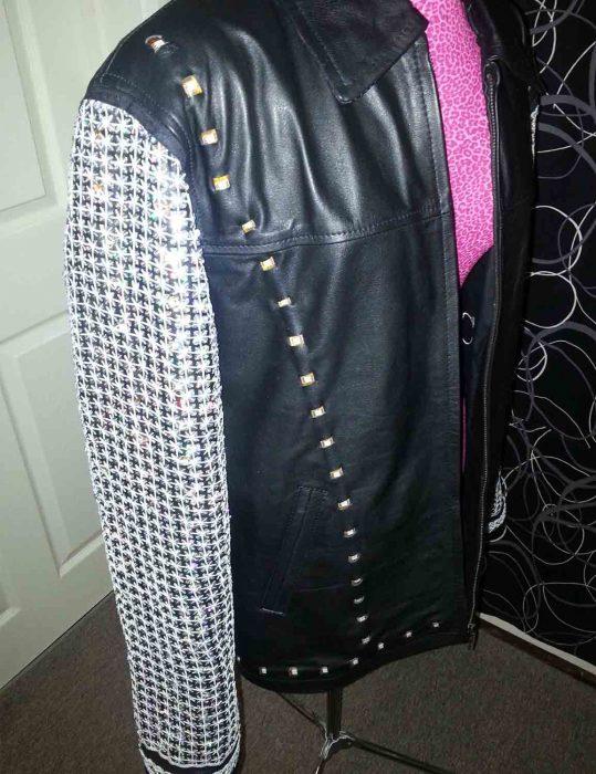 wwe light up chris jericho leather jacket