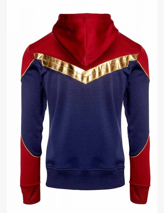 captain marvel cotton hoodie
