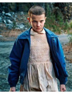Stranger Things Blue Jacket