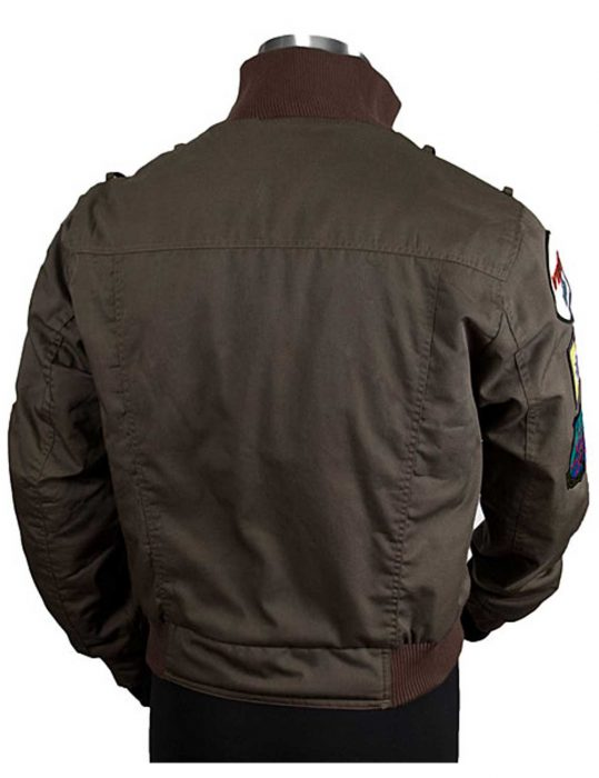 lee adama bomber jacket